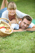 Couple having a romantic picnic together - 37315883