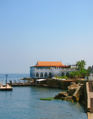 Villa on seacoast in Lebanon