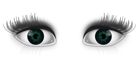 Eye spy.