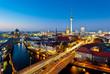 canvas print picture - Berlin View on Alexanderplatz