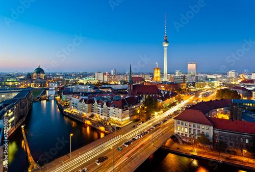 Berlin View on Alexanderplatz