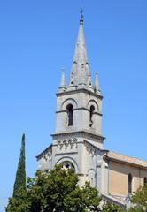 New Church Eglise Neuve from 1870, Bonnieux , Provence, France