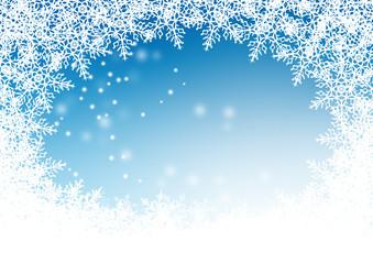 Winterlandschaft, Frost, Eisblumen, Schnee, Kristalle, Vorlage