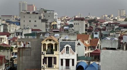 Urban landscape in Hanoi