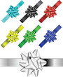 colored ribbons vectors