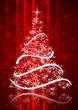 Cartolina Natale con Albero