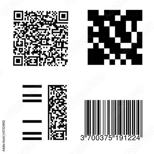 flashcode mobiltag code barre gencode fichier vectoriel libre de droits sur la banque d. Black Bedroom Furniture Sets. Home Design Ideas