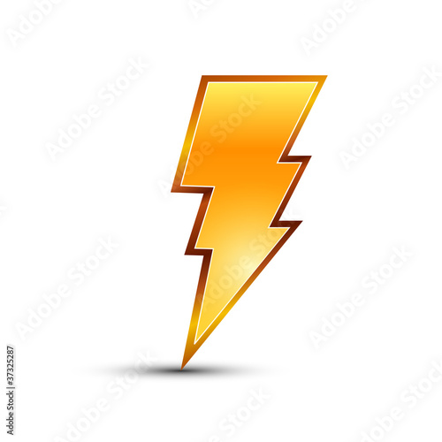 Bolt, Lightning, Power, Quick, Restart icon