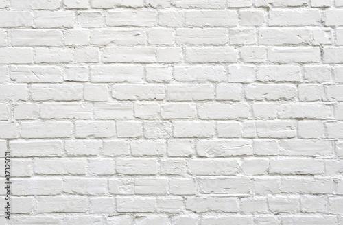 White brick wall - 37325801
