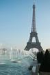 fontaines du trocadéro à Paris