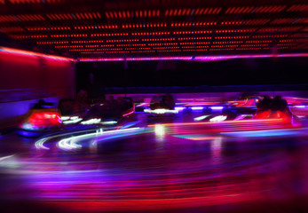 motion blur dodgems