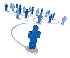 Social Network of People