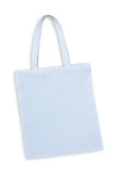 white cotton bag isolated with clipping path