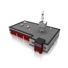 3d fire station
