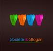 logo restaurant design couleurs