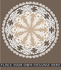 Frame lace-like