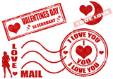 Valentine's Day stamps