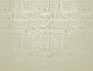 Vector silver circuit board background