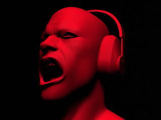 DJ Man with Headphones