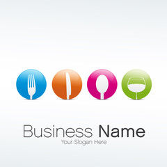 logo restaurant design