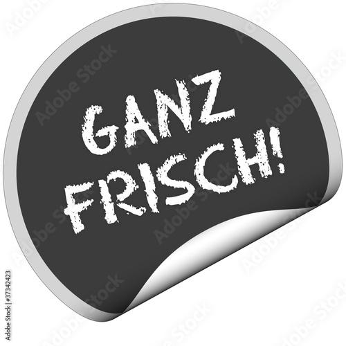 TF-Sticker rund curl unten GANZ FRISCH!