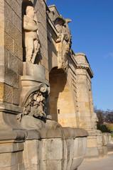 Wały Chrobrego w Szczecinie - fontanna