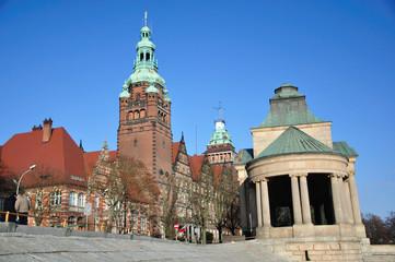 Wały Chrobrego - Urząd Wojewódzki w Szczecinie