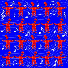 Music Men (motion illusion)