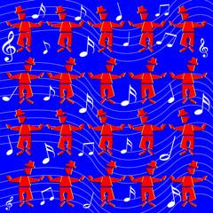 Music Men (motion illusion)