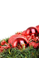 Christmas ball on fir