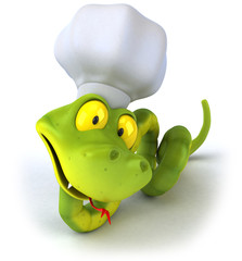 Serpent chef