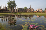 ancient temple at Sukhothai historical park
