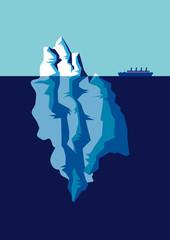 Die Spitze des Eisberges