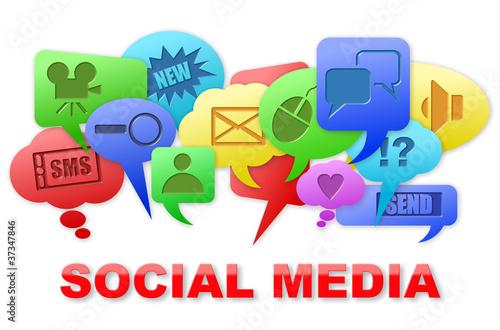 SOCIAL-MEDIA-ICONS 3D