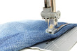 Sewing Machine and Jeans