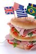 panino imbottito internazionale - uno