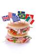 panino imbottito internazionale - due