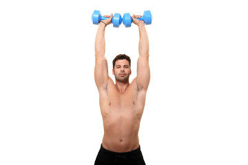 young man fitness instructor