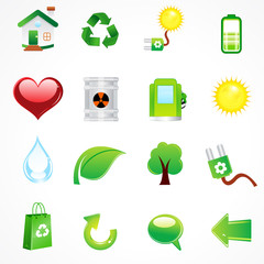 abstract complete eco icon