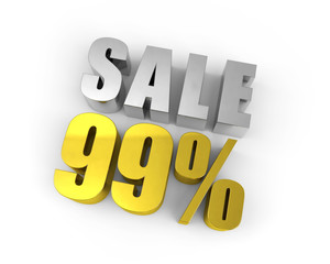 Discount of 99%