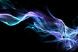 Fond texture abstrait flamme fumée - 37360800