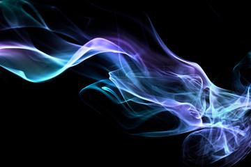 Abstrakcyjny dym