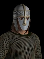 Saxon Warrior Chieftain Portrait