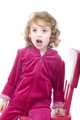 Bambina che urla