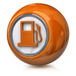 Orange fuel icon