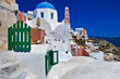 Santorini - traditional cycladic architecture
