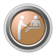 """Bronze 3D Style Button """"Registration"""""""