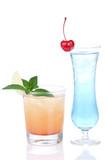 Cocktails alcohol drinks spirits margarita poster