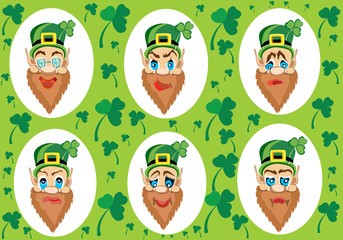 St. Patrick's Day. Vector