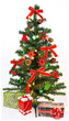 Christmas Tree with decorations and gifts